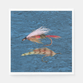 FLY FISHING PAPER NAPKINS