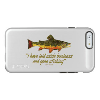 Fly Fishing Quote Incipio Feather® Shine iPhone 6 Case