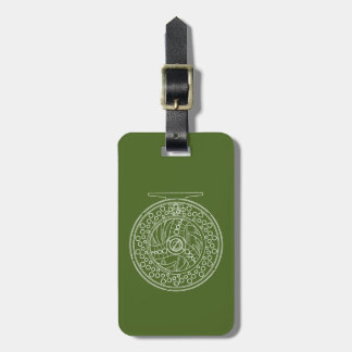 Fly Fishing Reel for Any Fisherman's Luggage Tag