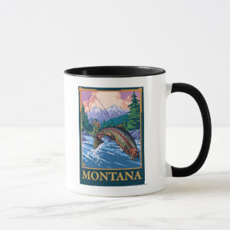 Fly Fishing Scene - Montana Mug