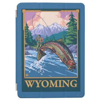 Fly Fishing Scene - Wyoming iPad Air Cover
