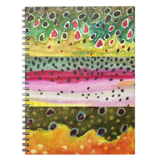 Fly Fishing Spiral Notebooks