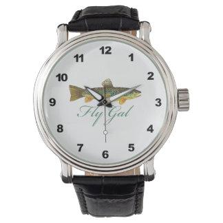 Fly Fishing Women Wristwatch