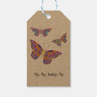 Fly, fly, baby, fly label