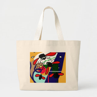 Fly, fly large tote bag