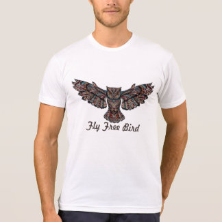 Fly Free Bird T Shirt