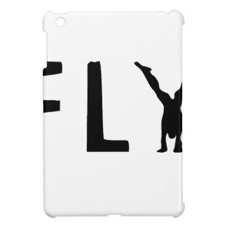 Fly funny text and human design iPad mini cases