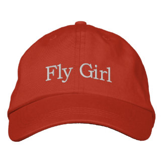 Fly Girl Embroidered Hat