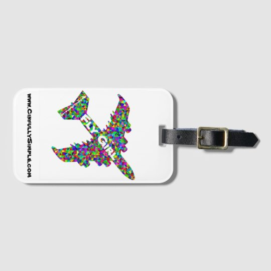 Fly Girl Luggage Tag