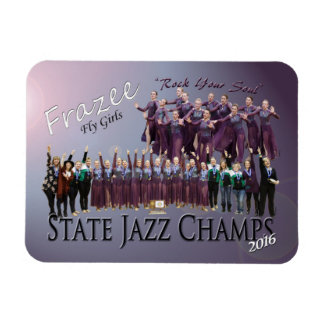 "Fly Girls State Jazz Champions 3x4"" photo magnet"