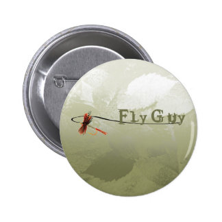 Fly Guy Pinback Buttons