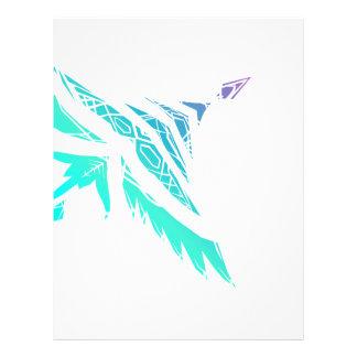 Fly High (Icy) Letterhead