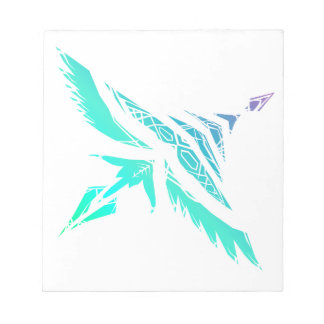 Fly High (Icy) Notepad