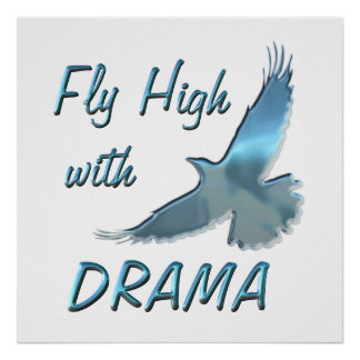 Fly High with Drama Poster