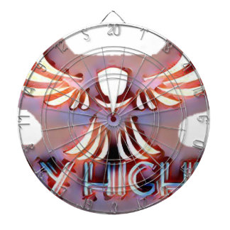 Fly-Higher Merch Dartboard