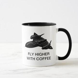 FLY HIGHER WITH COFFEE MUG