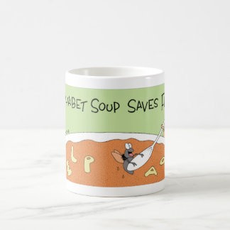 Fly in Alphabet soup Coffee Mug