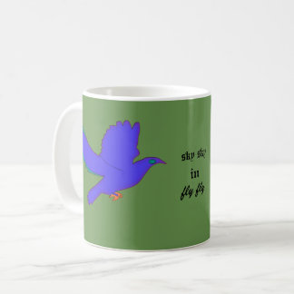 fly in sky coffee mug