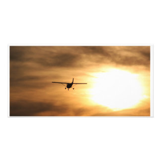 Fly Into The Sunset Card