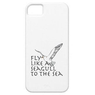 Fly Like A Seagull To The Sea Case For The iPhone 5
