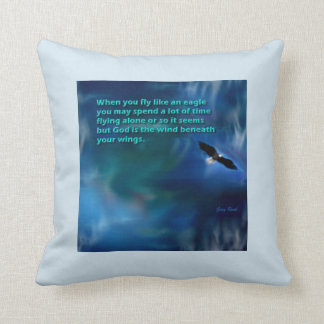 Fly Like an Eagle, Concept Art Pillow