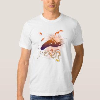 Fly like the birds, kitesurf shirt