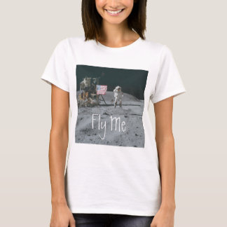 """Fly Me"" Apollo 16 Astronaut T-Shirt"
