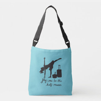 Fly Me To the Half Moon ~ Yoga Inspired Fashion Crossbody Bag