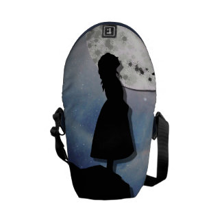 fly me to the moon paper cut universe commuter bag
