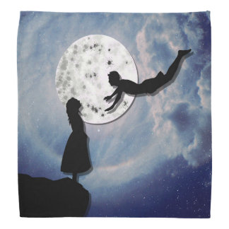 fly me to the moon paper cut universe do-rag