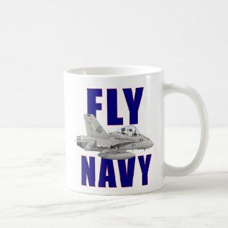Fly Navy Mug