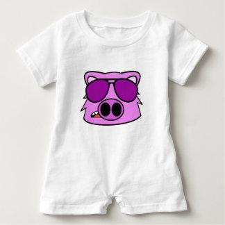 Fly Pig Baby Romper