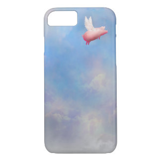 fly pig iPhone case