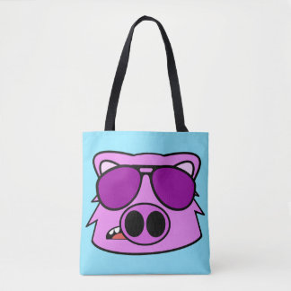 Fly Pig Tote Bag