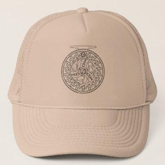 Fly Reel Art for Fans of Fly Fishing Trucker Hat