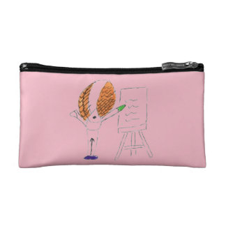Fly Teacher Small Cosmetics Bag