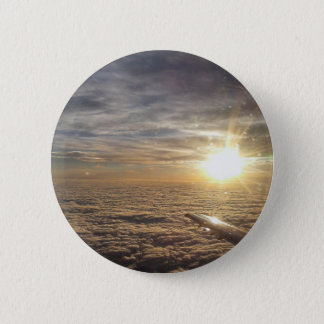 fly the heavenly skies 2 inch round button