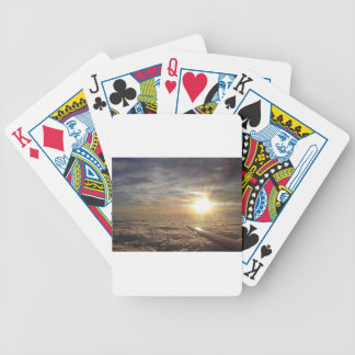 fly the heavenly skies bicycle playing cards