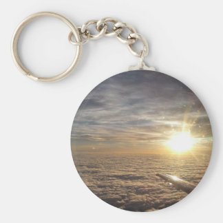 fly the heavenly skies keychain