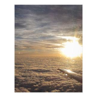fly the heavenly skies letterhead