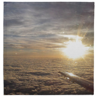 fly the heavenly skies napkin