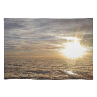 fly the heavenly skies placemat