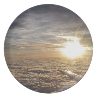 fly the heavenly skies plate