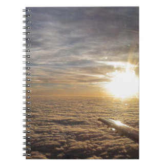 fly the heavenly skies spiral notebook