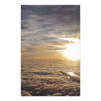 fly the heavenly skies stationery