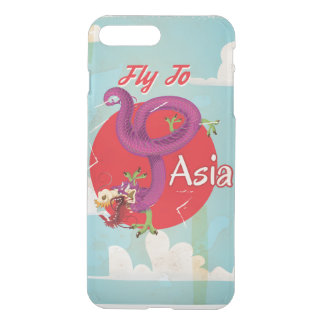 Fly to Asia Vintage Travel iPhone 8 Plus/7 Plus Case