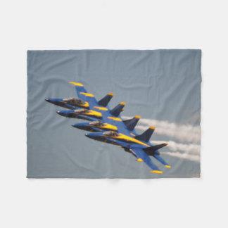 Fly to Sleep with the Blue Angels Fleece Blanket