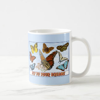Fly To Your Dreams Classic White Coffee Mug