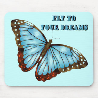 Fly to Your Dreams Mouse Pad
