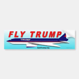 Fly Trump Bumper Sticker